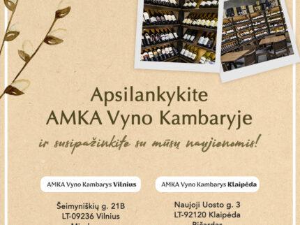 ApsiIankykite AMKA Vyno Kambaryje